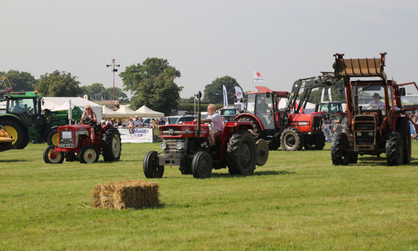 Vintage tractor section