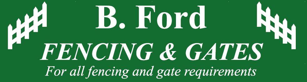 B Ford Fencing & Gates